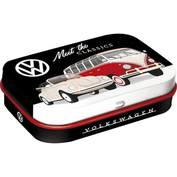 Volkswagen Campervan Meet The Classics Metal Mint Box