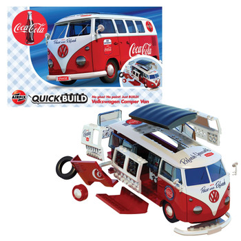 Airfix Quick Build Volkswagen Coca Cola Campervan
