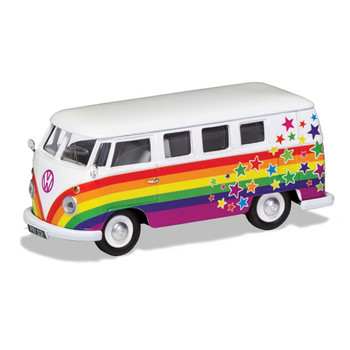 Volkswagen Corgi Diecast Rainbow Campervan