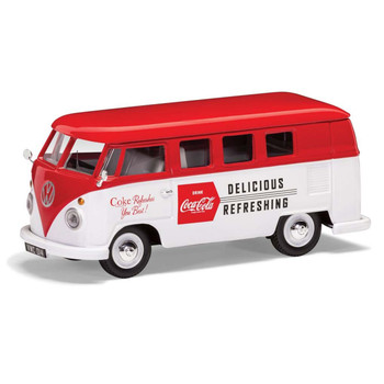 Volkswagen Corgi Diecast Coca Cola Campervan Late 1960's
