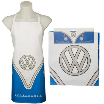 Volkswagen Blue Campervan BBQ Cooking Apron