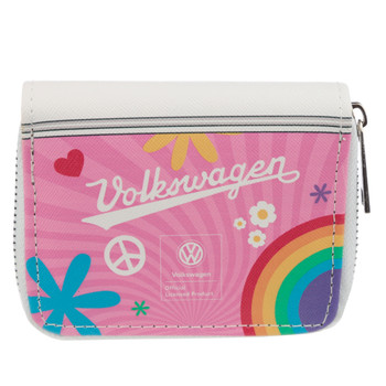 Volkswagen Campervan Summer Love Zipper Purse