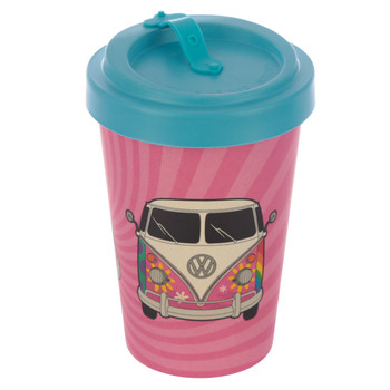 Volkswagen Campervan Summer Love Bamboo Travel Mug