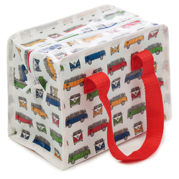 Volkswagen Quad Coloured Campervan Small Lunch Bag