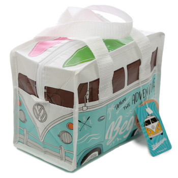 Volkswagen Campervan Adventure Begins Small Lunch Bag