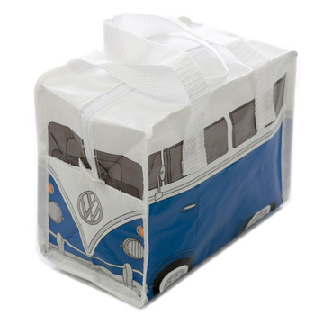 Volkswagen Blue Campervan Small Lunch Bag