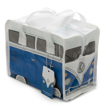 Volkswagen Blue Campervan Small Lunch Bag