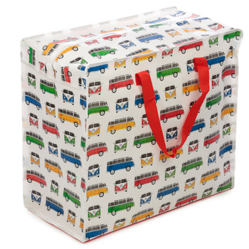 Volkswagen Quad Coloured Campervan Laundry Storage Bag