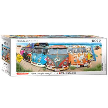 Volkswagen Kombi 1000 Piece Panoramic Campervan Puzzle