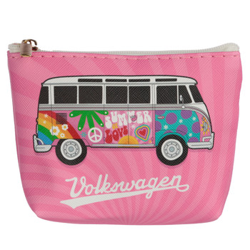 Volkswagen Campervan Summer Love PVC Coin Purse