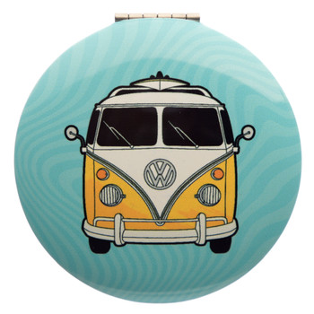 Volkswagen Campervan Adventure Begins Compact Mirror