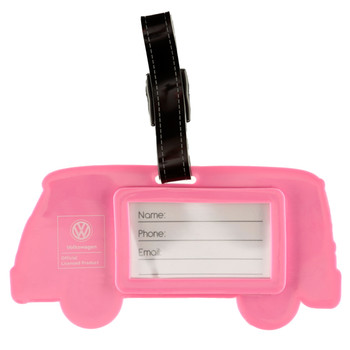 Volkswagen Campervan Summer Love PVC Luggage Tag