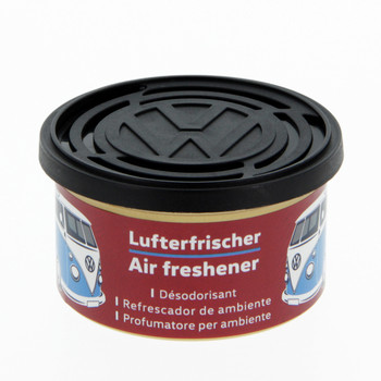 Volkswagen Campervan Air Freshener Tin - Cherry Red