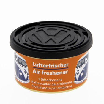 Volkswagen Campervan Air Freshener Tin - Vanilla Orange