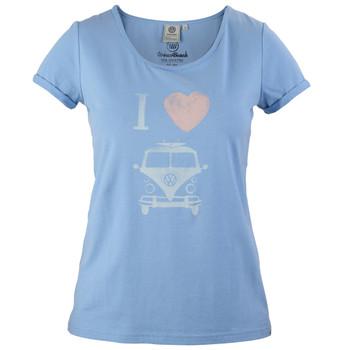Volkswagen Campervan Calla Blue Women's T-Shirt