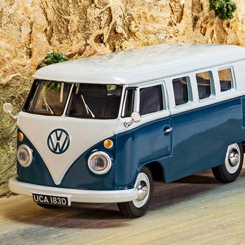 Volkswagen Corgi Diecast Blue Type 2 Campervan