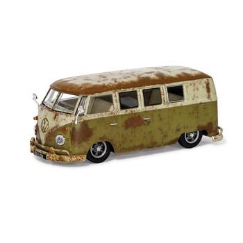 Volkswagen Corgi Diecast Green Rat Look Campervan