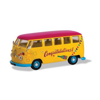 Volkswagen Corgi Diecast Congratulations Campervan