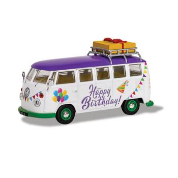 Volkswagen Corgi Diecast Happy Birthday Campervan