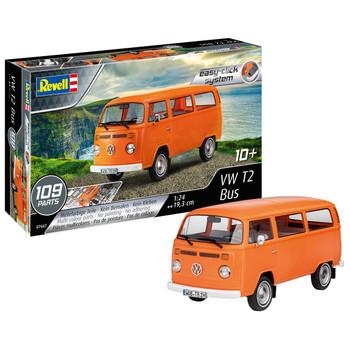 Volkswagen Revell Orange Bay T2 Campervan Model Kit