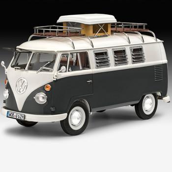 Volkswagen Revell T1 Camper Grey Campervan Model Kit