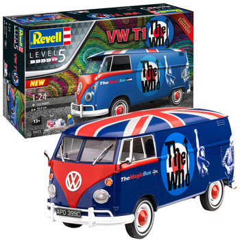 Volkswagen Revell Limited Edition The Who Campervan Model Kit