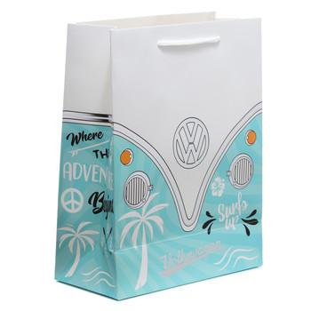 Volkswagen Adventure Begins Front Campervan Medium Gift Bag