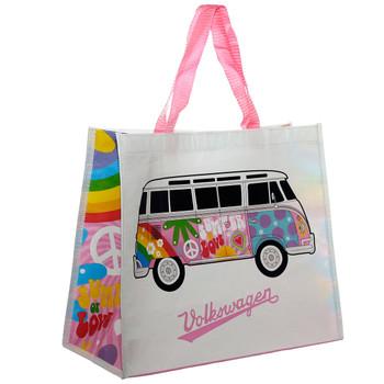 Volkswagen Summer Love Campervan Reusable Shopper Bag