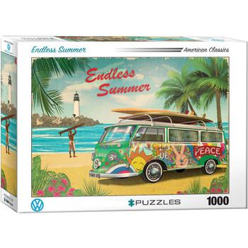 Volkswagen Endless Summer 1000 Piece Campervan Puzzle
