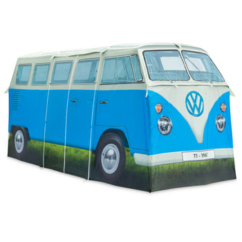 Volkswagen Campervan 4 Man Adult Tent - Blue