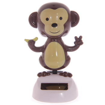 Solar Powered Dancing Monkey