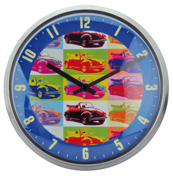 Official VW Hippy Beetle Wall Clock