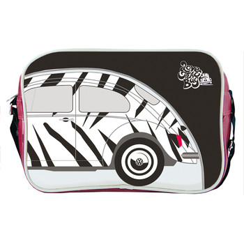 Retro Love That Bug Zebra Beetle Shoulder Bag