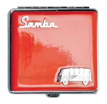 Official VW Samba Campervan Cigarette Case - Red