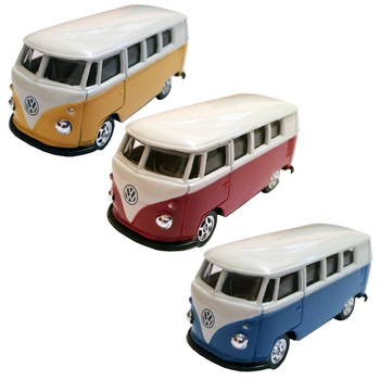 Mini Campervan Diecast Toy Models