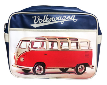 Official VW Red Campervan Retro Shoulder Bag