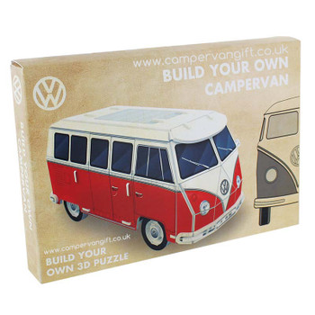 Build Your Own 3D Volkswagen Campervan