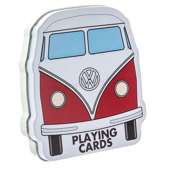 Volkswagen Campervan Playing Cards - Presentation TIn