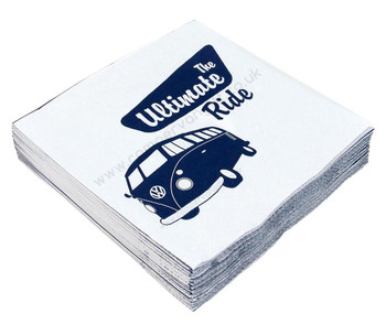 Volkswagen T1 Campervan The Ultimate Ride Napkins