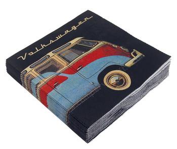Volkswagen T1 Campervan Bus & Bug Napkins