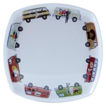 VW T1 Campervan Melamine 4 Piece Tableware Set