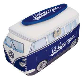 VW Blue Campervan Universal Neoprene Wash Bag