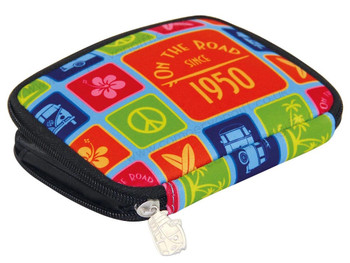 Volkwagen Campervan Colours Zipper Wallet
