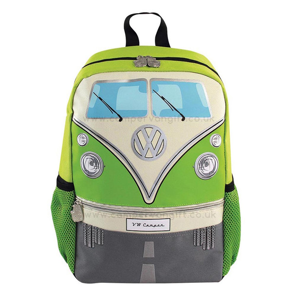 Volkswagen Front Campervan T1 Small Backpack - Green