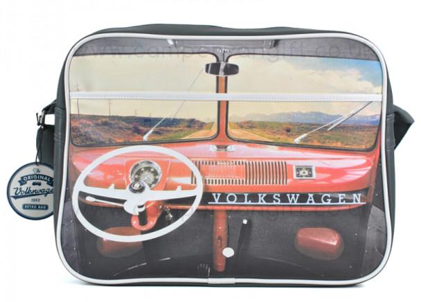 VW Red Dashboard Campervan Retro Shoulder Bag