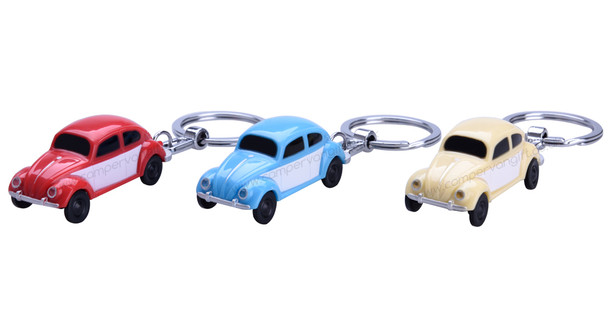 Official VW Beetle LED Torch Key Ring