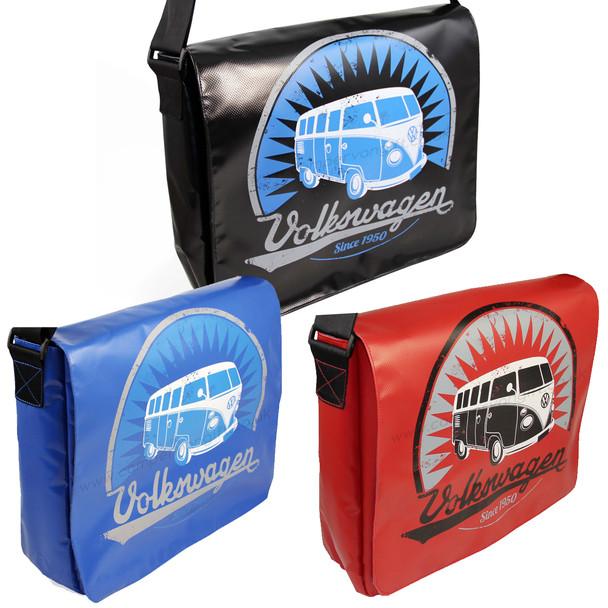 Tarpaulin VW Campervan Shoulder Bag - Large