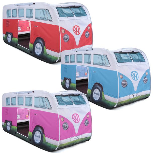 Kids Play VW Campervan Pop Up Tents