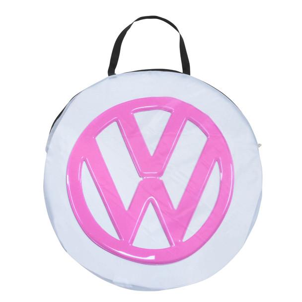Kids Play VW Campervan Pop Up Tent - Pink Bag