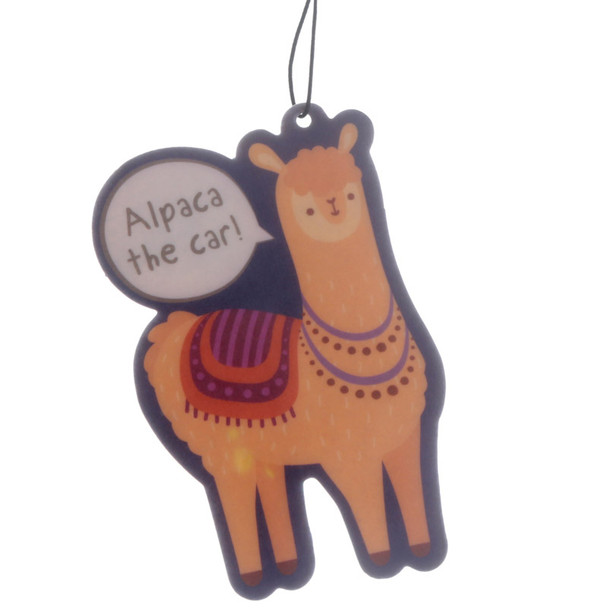 Alpaca The Car Orange Air Freshener